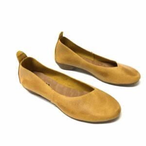 בובה SHELI עור אסימטרי צהוב 113