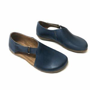 נעל HANI עור כחול 666