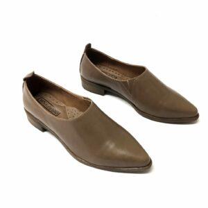 נעל עור MONIK בז 700