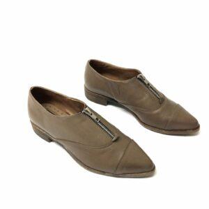 נעל עור NILI בז 710