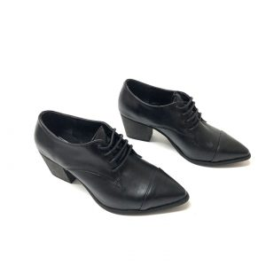 נעל אוקספורד עור SHONTAL שחור 918