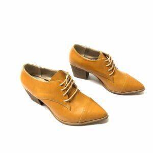 נעל אוקספורד עור SHONTAL חרדל 918
