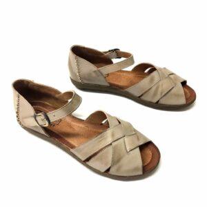 נעל עור SHOVAL אפור 888