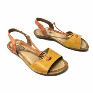 דגם 314 : סנדל בצבע צהוב