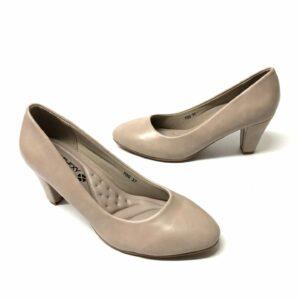 דגם 15071: נעלי סירה בצבע בז