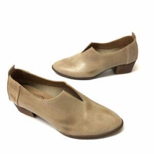 דגם 774 : נעל עור בצבע אפור