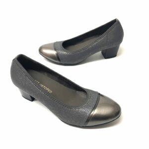 דגם 0831 : נעלי סירה בצבע אפור