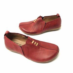 דגם 667A: נעל עור בצבע בורדו