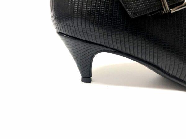 דגם 3678079 : מגפון SENDI בצבע שחור קרוקו