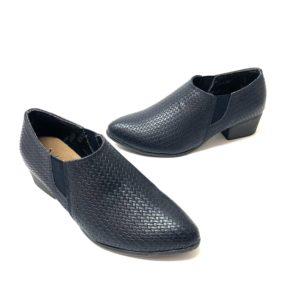 דגם 06050 : נעל שיקית בצבע קרוקו כחול