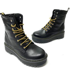 דגם 1010 : נעל MARTIN בצבע שחור מט