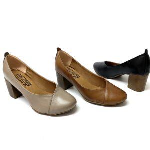 דגם 3700 : נעלי סירה מעור