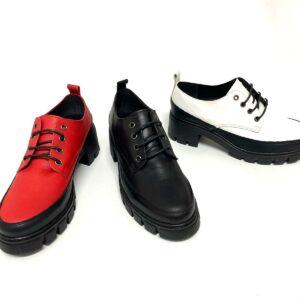 דגם 065 : נעלי אוקספורד מעור