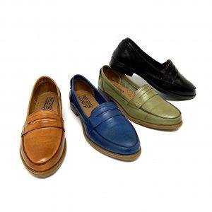דגם 1044 : נעלי מוקסין עור